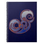 Epic 'Blue' Spiral Note Books
