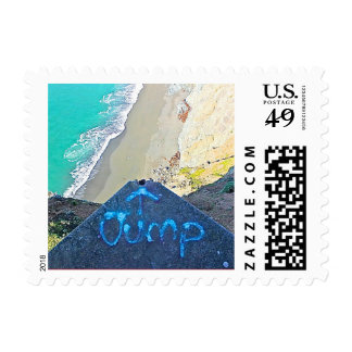 Epic Coast Jump Graffiti Stamp