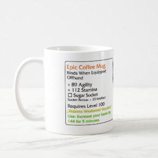Epic Coffee mug white