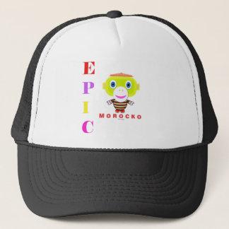EPIC-Cute Monkey-Morocko Trucker Hat