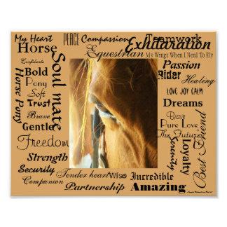 Epic Description of Horses Photo Print