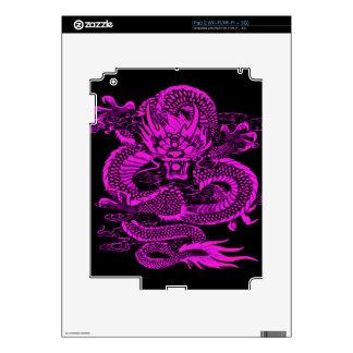 Epic Dragon Purple iPad 2 Decal
