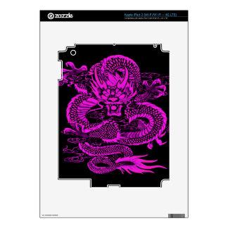 Epic Dragon Purple iPad 3 Skin