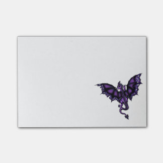 epic dragon purple post-it notes