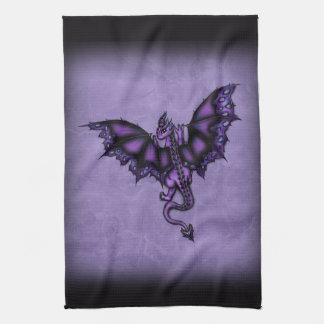 epic dragon purple towel