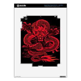 Epic Dragon Red iPad 3 Skin