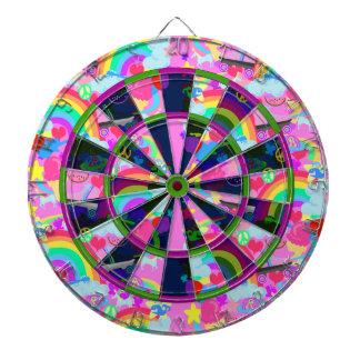 Epic Eighties Explosion Dartboard With Darts