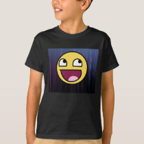 Epic face and back pattern shirt
