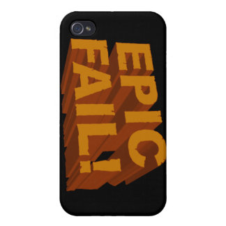 Epic Fail! 3D iPhone 4 Speck Case Case For iPhone 4