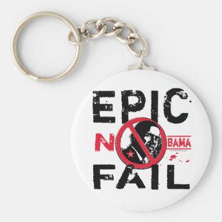 Epic Fail Anti-Obama Basic Round Button Keychain