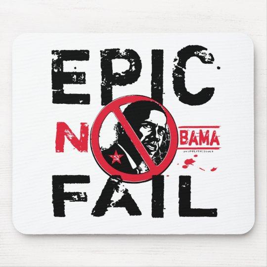 Epic Fail Anti-Obama Mouse Pad