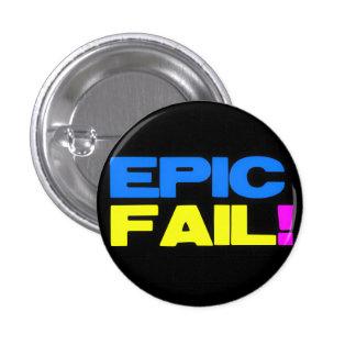 Epic Fail 1 Inch Round Button