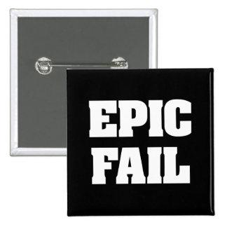Epic Fail 2 Inch Square Button