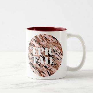 EPIC FAIL Chocolate Camo Mug