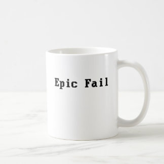 Epic Fail Coffee Mugs