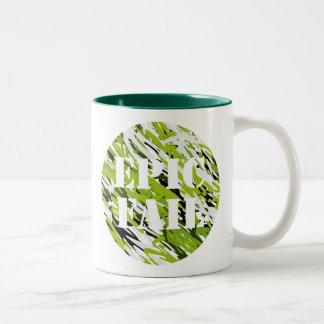 EPIC FAIL Green Camo Mug