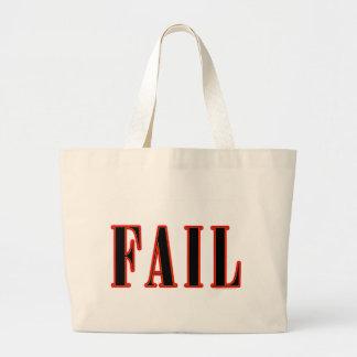 Epic Fail Large Tote Bag