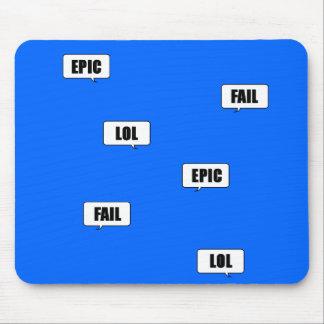 Epic. Fail. Lol Mouse Pad