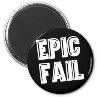 Epic Fail Refrigerator Magnets