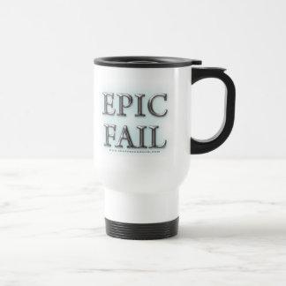 Epic Fail 15 Oz Stainless Steel Travel Mug