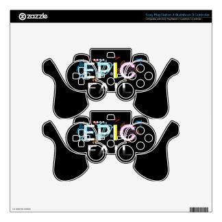 'Epic Fail' PlayStation 3 Dualshock 3 Controller PS3 Controller Skins