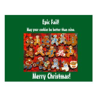 Epic Fail! Postcard