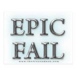 Epic Fail Postcards