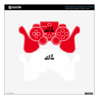Epic Fail PS3 Controller Skin