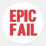 Epic Fail sticker