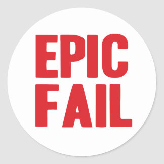 Epic Fail sticker