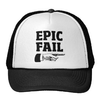 Epic Fail Trucker Hat