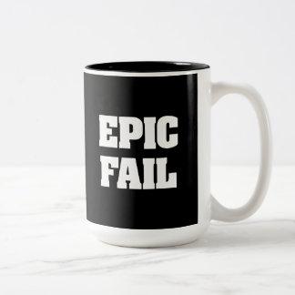 Epic Fail Two-Tone Coffee Mug