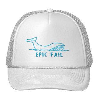 Epic Fail Whale Hat
