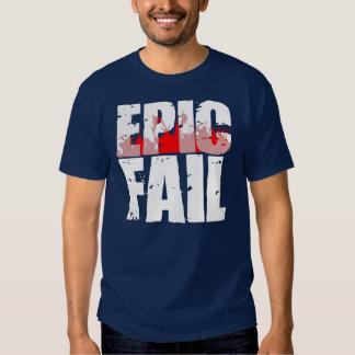 Epic Fail (white) T-shirts