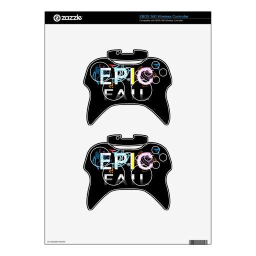 'Epic Fail' Wireless xbox Controller Xbox 360 Controller Skins