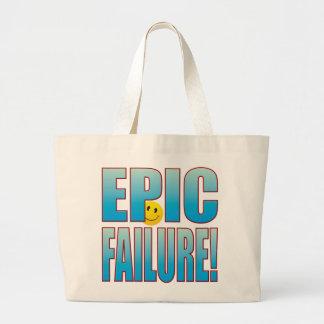 Epic Failure Life B Large Tote Bag