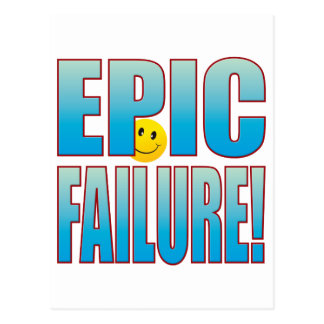 Epic Failure Life B Postcard