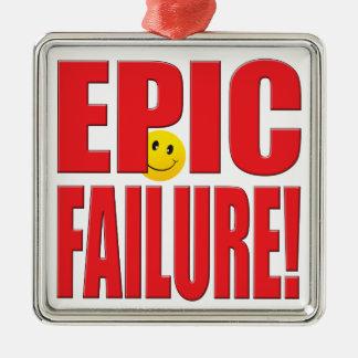 Epic Failure Life Christmas Tree Ornament