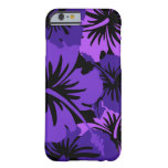 Epic Hibiscus Floral Hawaiian Barely There iPhone 6 Case