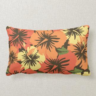 Epic Hibiscus Hawaiian Decorative Lumbar Pillows