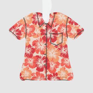 Epic Hibiscus Hawaiian Floral Aloha Shirt Ornament