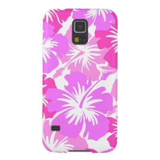 Epic Hibiscus Hawaiian Floral Aloha Shirt Print Case For Galaxy S5