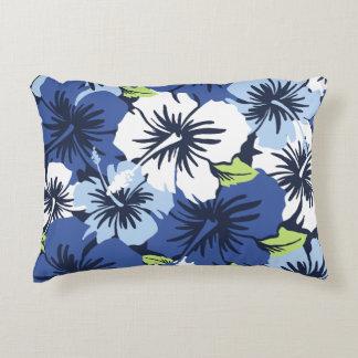 Epic Hibiscus Hawaiian Floral Aloha Shirt Print Accent Pillow