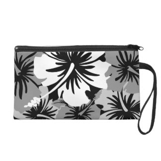 Epic Hibiscus Hawaiian Floral Wristlet Clutches