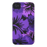 Epic Hibiscus Hawaiian Floral iPhone 4 Case