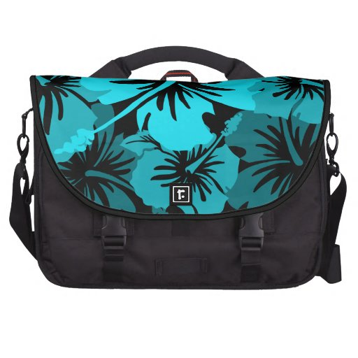 Epic Hibiscus Hawaiian Floral Laptop Commuter Bags
