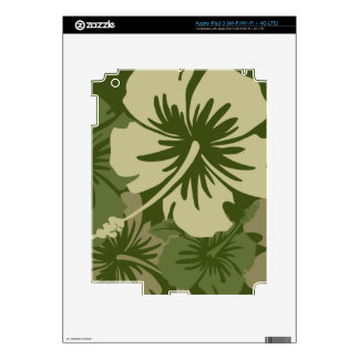 Epic Hibiscus Hawaiian iPad 3 or Tablet Skin Skin For iPad 3