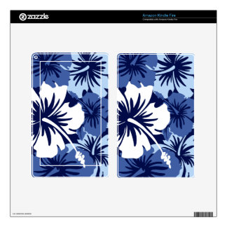 Epic Hibiscus Hawaiian Kindle or eReader Skin Decal For Kindle Fire