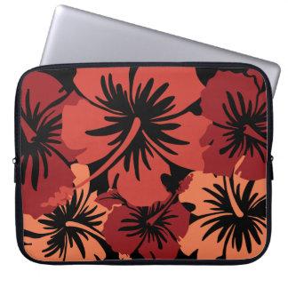 Epic Hibiscus Hawaiian Neoprene Wetsuit Computer Sleeve
