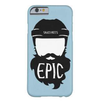 Epic Hockey Beard Barely There iPhone 6 Case